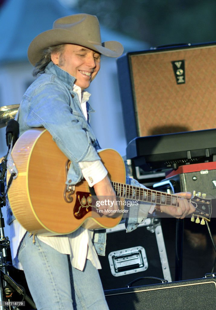 Dwight Yoakum performs as part of the Stagecoach Music Festival at the Empire Polo Grounds on April 27, 2013 in Indio, California.