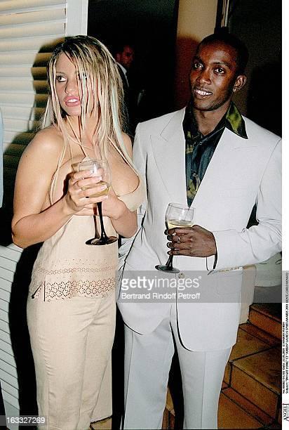 Dwight Yorke and Jordan at theLaureus Sport Awards 2001 In MonteCarlo Monaco