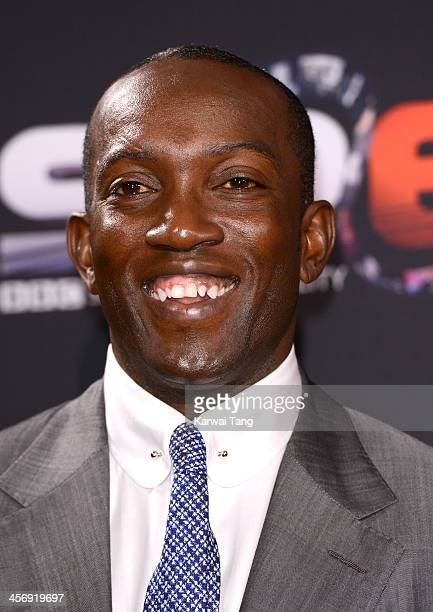 Dwight Yorke attends the BBC Sports Personality of the Year awards held at the First Direct Arena on December 15 2013 in Leeds England