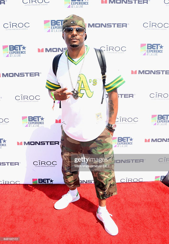 Wrek attends the BETX gifting suite during the 2016 BET Experience on June 25, 2016 in Los Angeles, California.