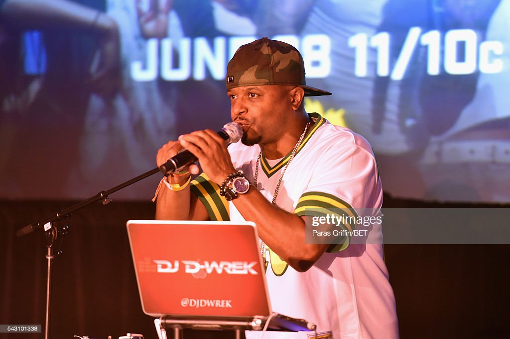 Wrek performs onstage at MTV Wild N Out live show during the 2016 BET Experience on June 25, 2016 in Los Angeles, California.