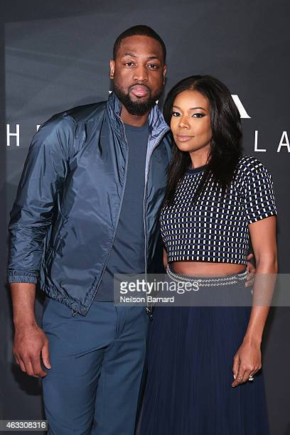 Dwyane Wade and Gabrielle Union attend Prada The Iconoclasts New York 2015 on February 12 2015 in New York City