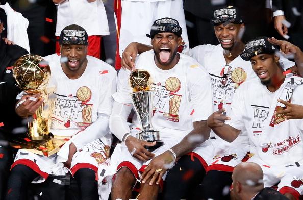 San Antonio Spurs v Miami Heat - Game 7 : News Photo