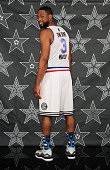 Dwyane Wade of the Miami Heat poses for an AllStar portrait on January 29 2015 at American Airlines Arena in Miami Florida NOTE TO USER User...