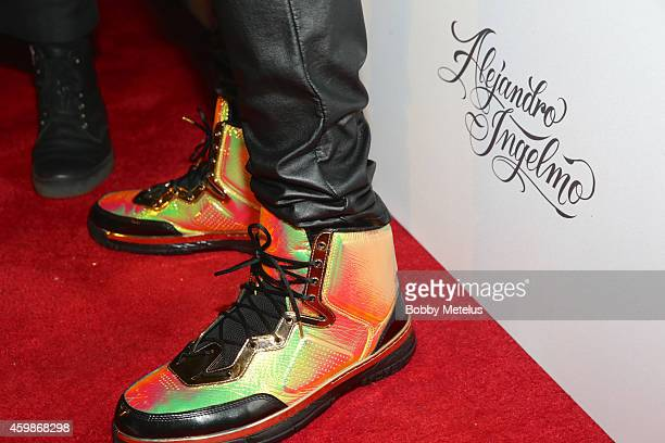 Dwyane Wade shoe detail during Haute Living and The Webster event hosted by Dwyane Wade and footwear desinger Alejandro Ingelmo during Art Basel at...