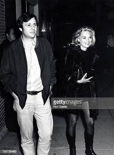 Dyan Cannon and guest during Dyan Cannon Sighting at the Daisy Club March 28 1970 at The Daisy Club in Beverly Hills California United States