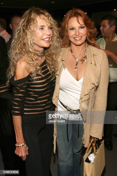 Dyan Cannon and Raquel Welch during 'Boynton Beach Club' Los Angeles Premiere After Party at Pacific Design Center in West Hollywood California...