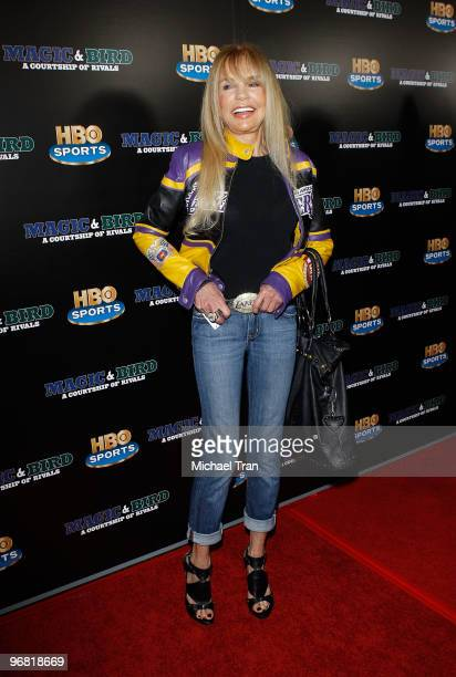 Dyan Cannon attends the Los Angeles premiere of HBO's 'Magic And Bird A Courtship Of Rivals' held at Mann Bruin Theatre on February 17 2010 in...