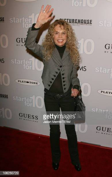 Dyan Cannon during 'Starter For 10' Los Angeles Premiere Arrivals at ArcLight Hollywood in Hollywood California United States