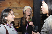 Dyana Winkler and Ann Lai attend the Alfred P Sloan Foundation Reception and Prize Announcement during the 2016 Sundance Film Festival at High West...