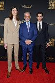 HFPA And THR Golden Globe Ambassador Party - Press...