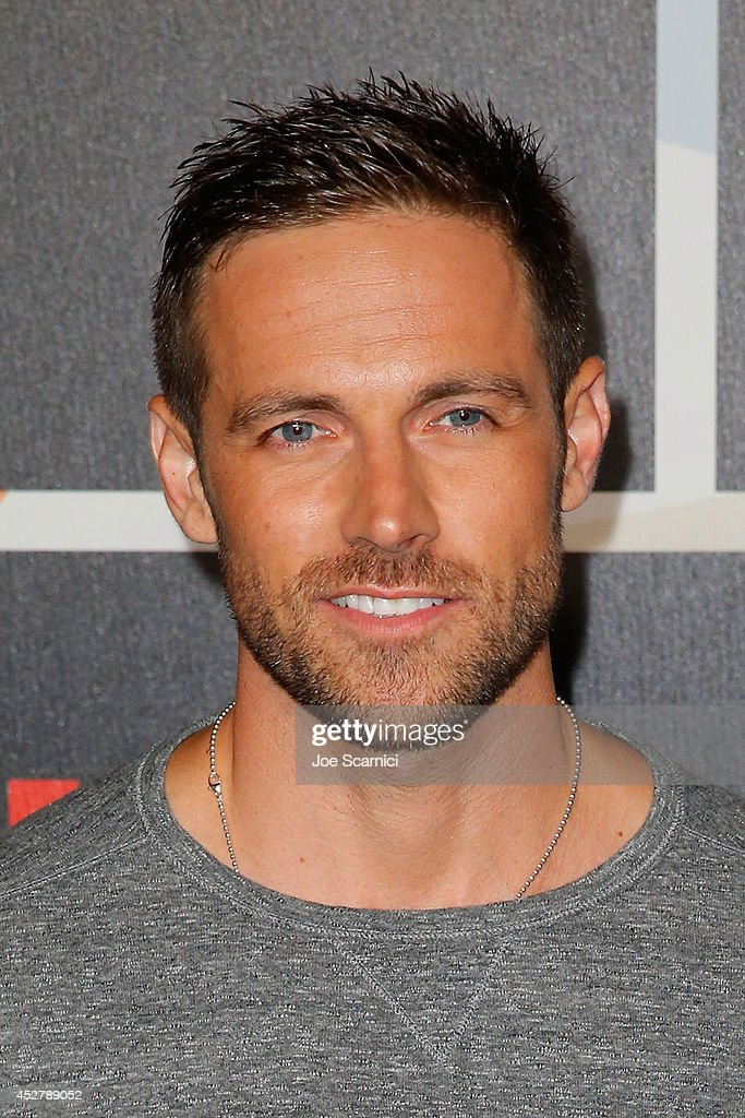 Dylan Bruce arrives to Entertainment Weekly's Annual Comic Con Celebration during Comic-Con International 2014 at Float at Hard Rock Hotel San Diego on July 26, 2014 in San Diego, California.