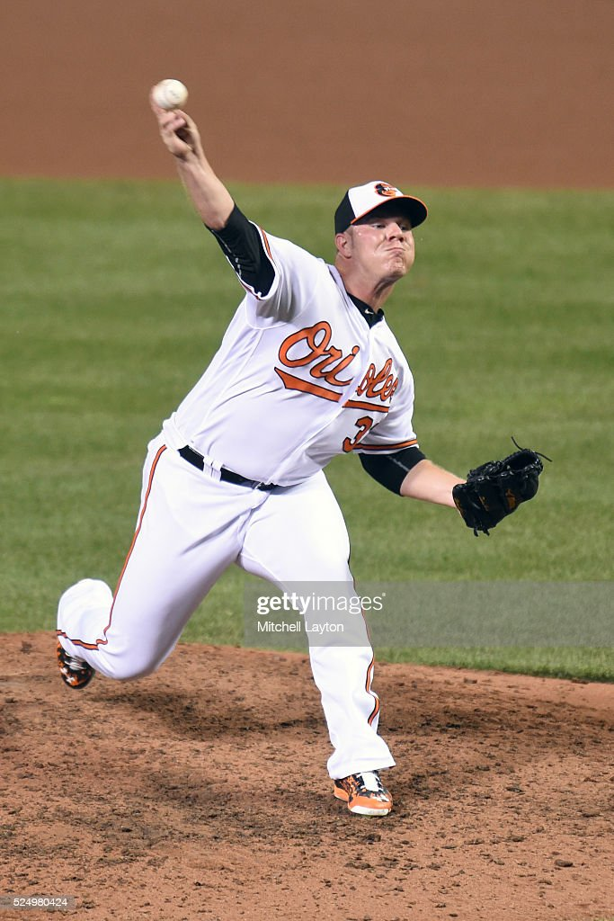<a gi-track='captionPersonalityLinkClicked' href=/galleries/search?phrase=Dylan+Bundy&family=editorial&specificpeople=7948654 ng-click='$event.stopPropagation()'>Dylan Bundy</a> #37 of the Baltimore Orioles pitches during a baseball game against the Toronto Blue Jays at Oriole Park at Camden Yards on April 21, 2016 in the Baltimore, Maryland. The Orioles won 4-2.