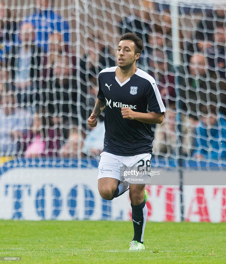 Dylan Carrerio for Dundee at the Pre Season Friendly between Dundee and Everton at Dens Park on July 28th, 2015 in Dundee, Scotland.
