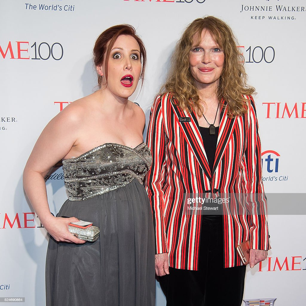 Dylan Farrow (L) and actress <a gi-track='captionPersonalityLinkClicked' href=/galleries/search?phrase=Mia+Farrow&family=editorial&specificpeople=93764 ng-click='$event.stopPropagation()'>Mia Farrow</a> attend the 2016 Time 100 Gala at Frederick P. Rose Hall, Jazz at Lincoln Center on April 26, 2016 in New York City.