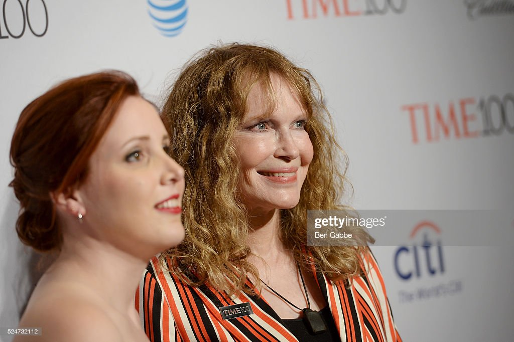 Dylan Farrow (L) and <a gi-track='captionPersonalityLinkClicked' href=/galleries/search?phrase=Mia+Farrow&family=editorial&specificpeople=93764 ng-click='$event.stopPropagation()'>Mia Farrow</a> attend 2016 Time 100 Gala, Time's Most Influential People In The World red carpet at Jazz At Lincoln Center at the Times Warner Center on April 26, 2016 in New York City.