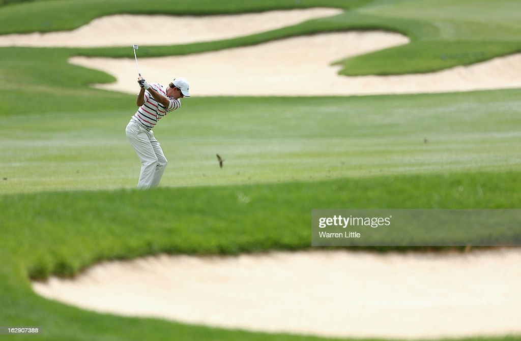 Dylan Frittelli of South Africa in action during the second round of the Tshwane Open at Copperleaf Golf & Country Estate on March 1, 2013 in Centurion, South Africa.