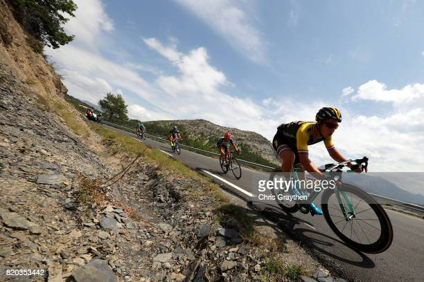 Dylan Groenewegen of Netherlands riding for Team Lotto NLJumbo rides during stage 19 of the 2017 Le Tour de France a 2225km stage from Embrun to...