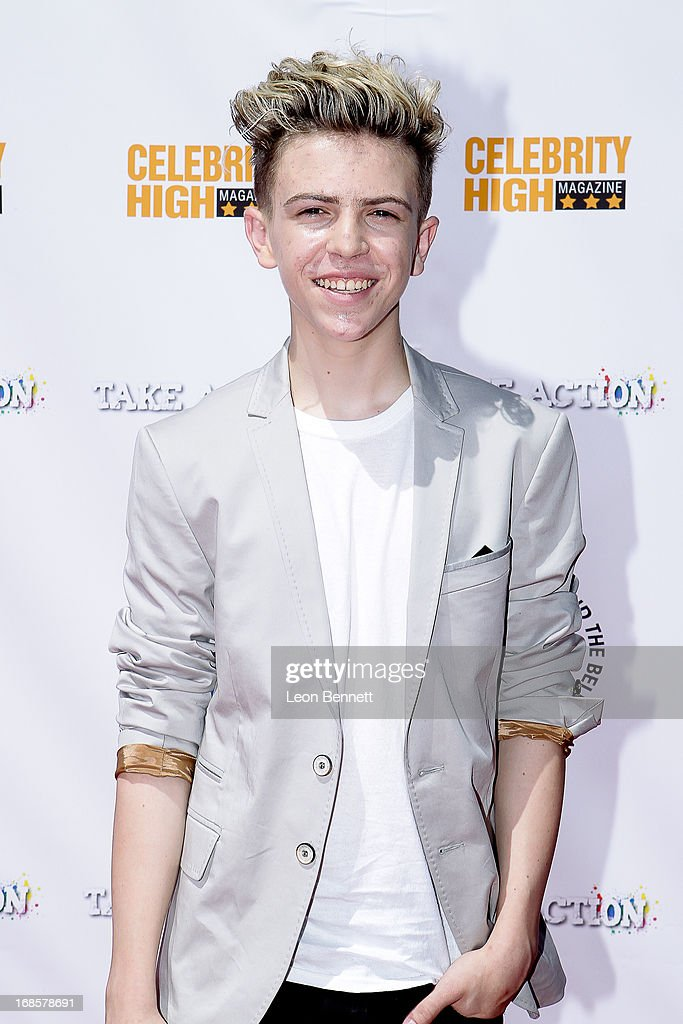 Dylan Hyde arrived at LAUSD's Beyond The Bell Branch And Nick Cannons Celebrity High Present 'Spotlight On Success' at Paramount Studios on May 11, 2013 in Hollywood, California.