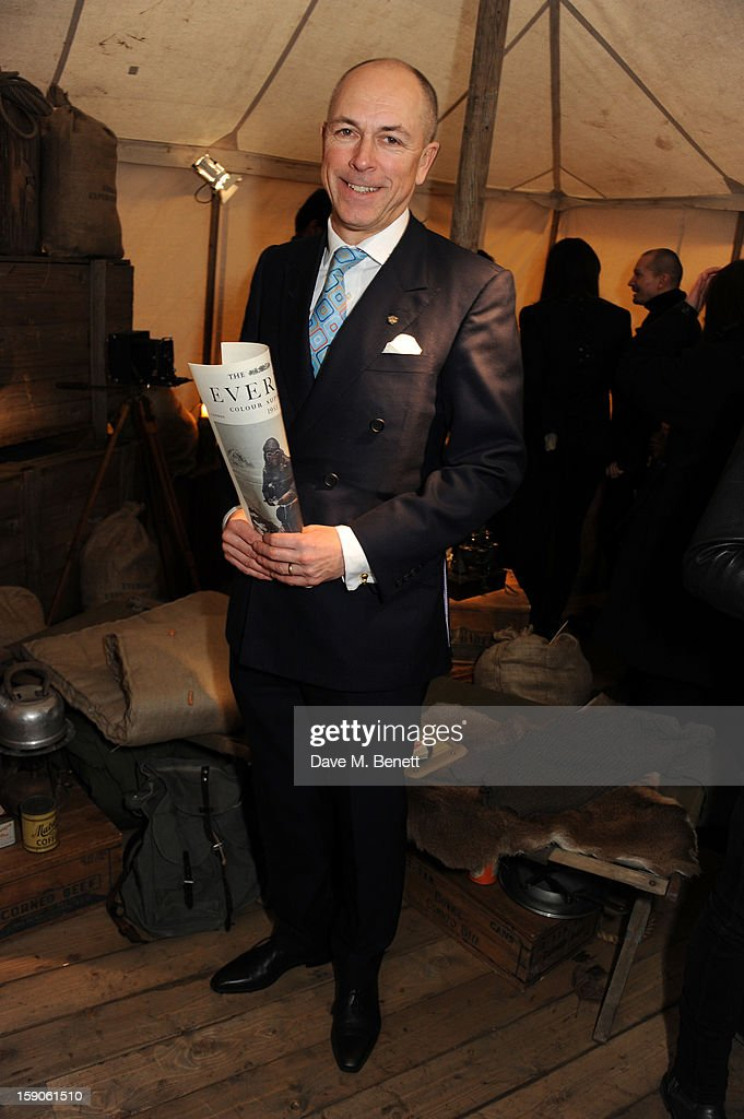 Dylan Jones attends the 'BALLY Celebrates 60 Years of Conquering Everest' at Bedford Square Gardens on January 7, 2013 in London, England.