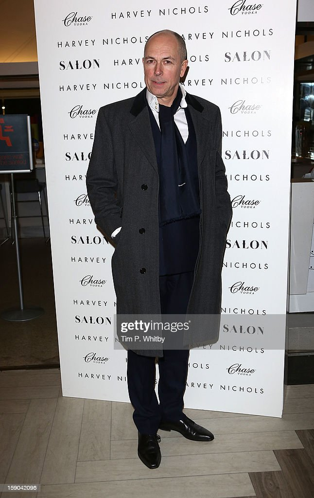 Dylan Jones attends the launch of 1205 Paula Gerbase Hosted By Harvey Nichols ahead of the London Collections: MEN AW13 at Harvey Nichols on January 6, 2013 in London, England.