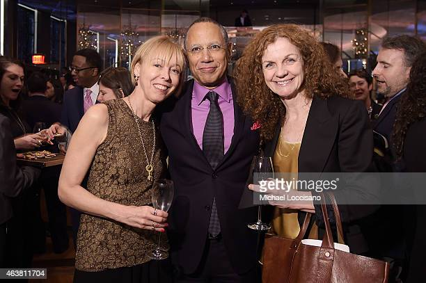 Dylan Landis executive editor of The New York Times Dean Baquet and Director of Photography at The New York Times Magazine Kathy Ryan attend The New...