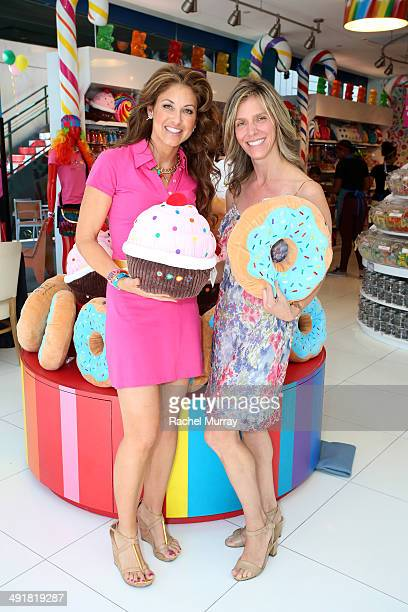 Dylan Lauren and Jane Buckingham host Dylan's Candy Bar Candy Girl Collection LA Launch Event at Dylan's Candy Bar on May 17 2014 in Los Angeles...