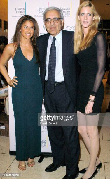 Dylan Lauren and President of Lincoln Center Reynold Levy and Ann Coulter arrive at Lincoln Center's Winter Gala at Alice Tully Hall in New York