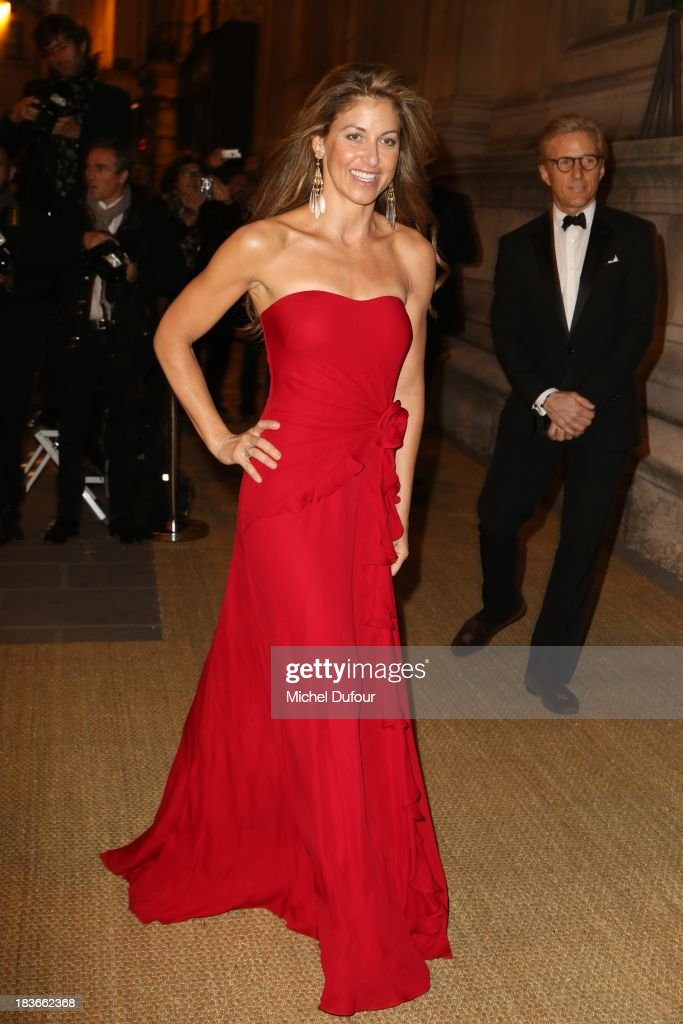 <a gi-track='captionPersonalityLinkClicked' href=/galleries/search?phrase=Dylan+Lauren&family=editorial&specificpeople=243055 ng-click='$event.stopPropagation()'>Dylan Lauren</a> arrives at a Ralph Lauren Collection Show and private dinner at Les Beaux-Arts de Paris on October 9, 2013 in Paris, France. On this occasion Ralph Lauren celebrates the restoration project and patron sponsorship of L'Ecole des Beaux-Arts.