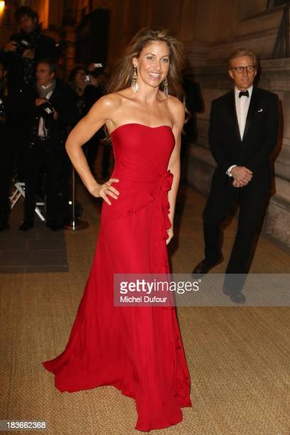 Dylan Lauren arrives at a Ralph Lauren Collection Show and private dinner at Les BeauxArts de Paris on October 9 2013 in Paris France On this...
