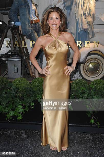 Dylan Lauren arrives to the Ralph Lauren dinner to celebrate the opening of the flagship on April 14 2010 in Paris France