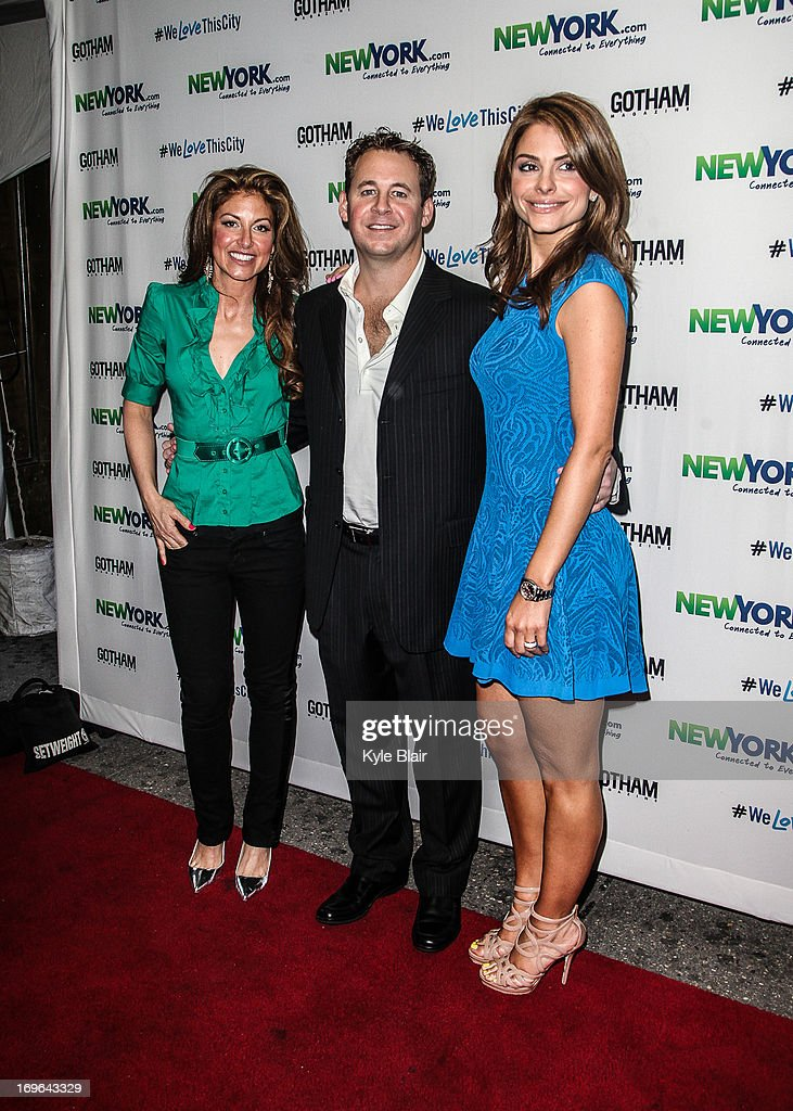 <a gi-track='captionPersonalityLinkClicked' href=/galleries/search?phrase=Dylan+Lauren&family=editorial&specificpeople=243055 ng-click='$event.stopPropagation()'>Dylan Lauren</a>, Brett Reizen and <a gi-track='captionPersonalityLinkClicked' href=/galleries/search?phrase=Maria+Menounos&family=editorial&specificpeople=203337 ng-click='$event.stopPropagation()'>Maria Menounos</a> attends the NewYork.com Launch Party at Arena on May 29, 2013 in New York City.