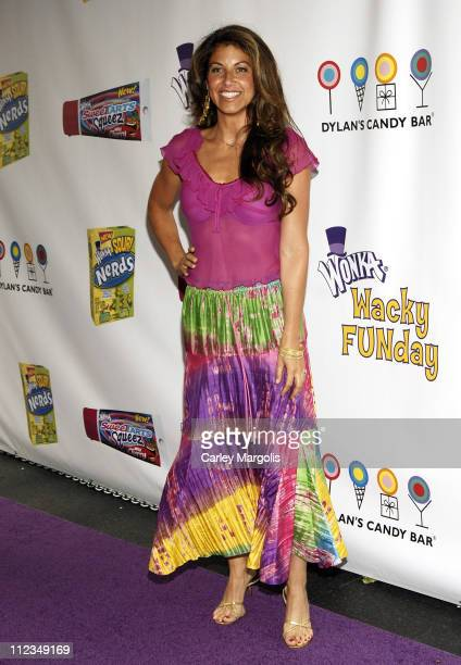 Dylan Lauren during Jesse McCartney and Willy Wonka Host 'Wonka's Wacky FUNDay' to Launch New SweeTARTS Squeez and Sour Nerds at Dylan's Candy Bar in...