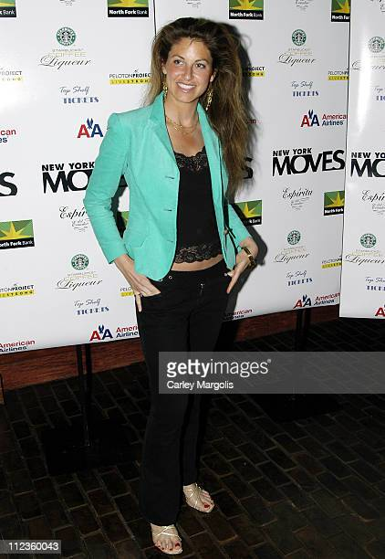 Dylan Lauren of Dylan's Candy Bar honoree during 'New York Moves' Celebrates 2005 Power Women at Libations in New York City New York United States