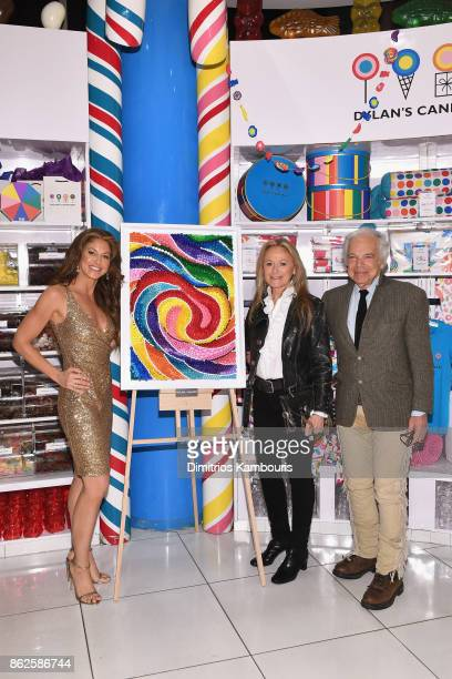 Dylan Lauren Ricky Lauren and Ralph Lauren celebrate the Sweet 16 of Dylan's Candy Bar on October 17 2017 in New York City