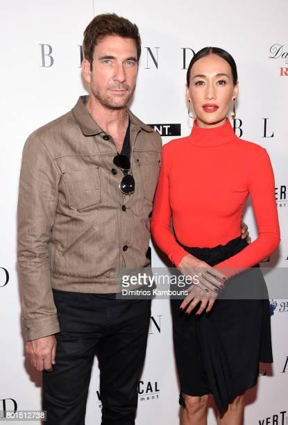 Dylan McDermott and Maggie Q attend the 'Blind' premiere at Landmark Sunshine Cinema on June 26 2017 in New York City