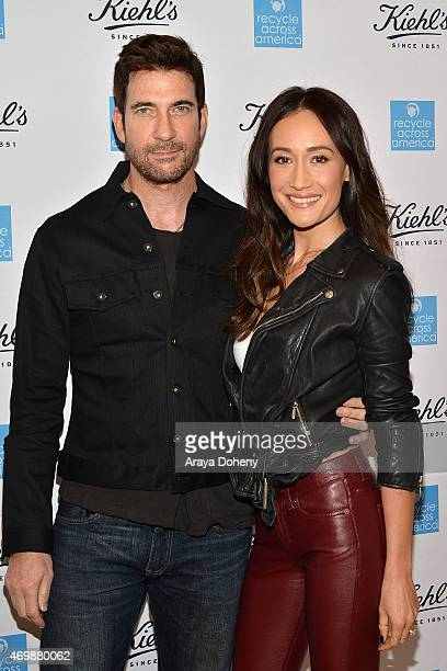 Dylan McDermott and Maggie Q attend the Kiehl's 2015 Earth Day Project with Benefitting Recycle Across America at Kiehls Since 1851 Santa Monica...