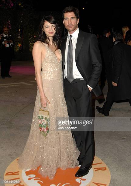 Dylan McDermott and wife Shiva Rose McDermott