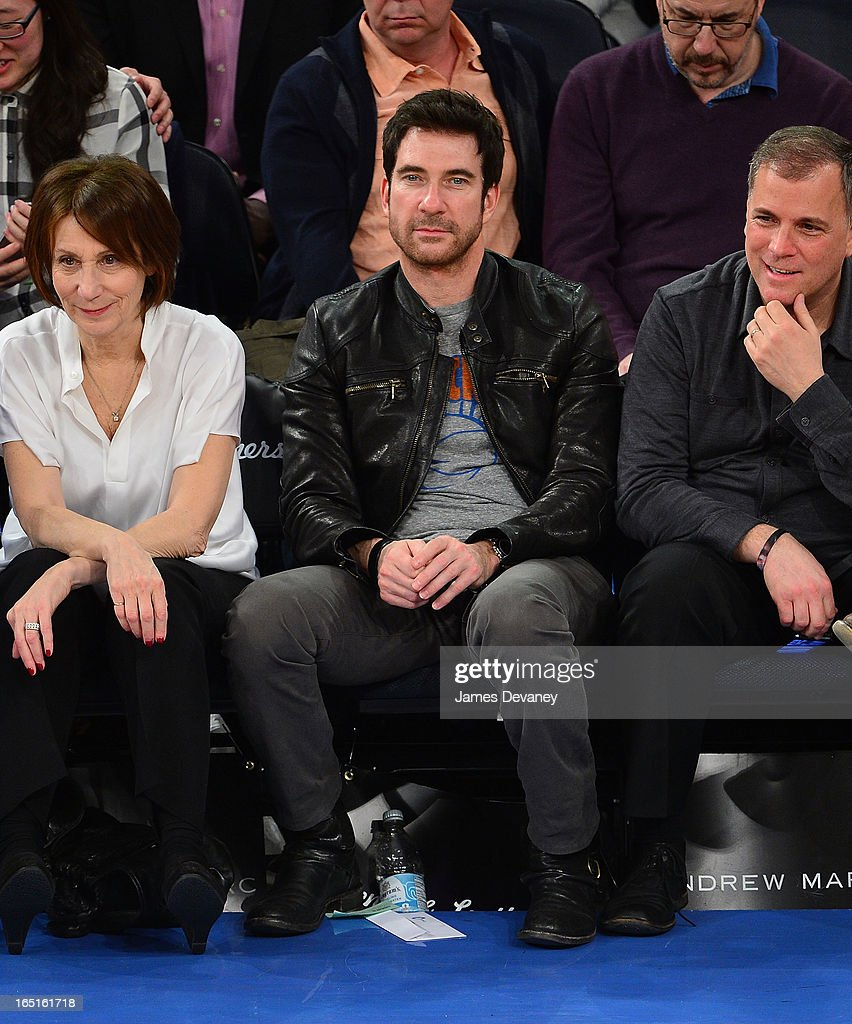 <a gi-track='captionPersonalityLinkClicked' href=/galleries/search?phrase=Dylan+McDermott&family=editorial&specificpeople=211496 ng-click='$event.stopPropagation()'>Dylan McDermott</a> attends the Boston Celtics vs New York Knicks game at Madison Square Garden on March 31, 2013 in New York City.
