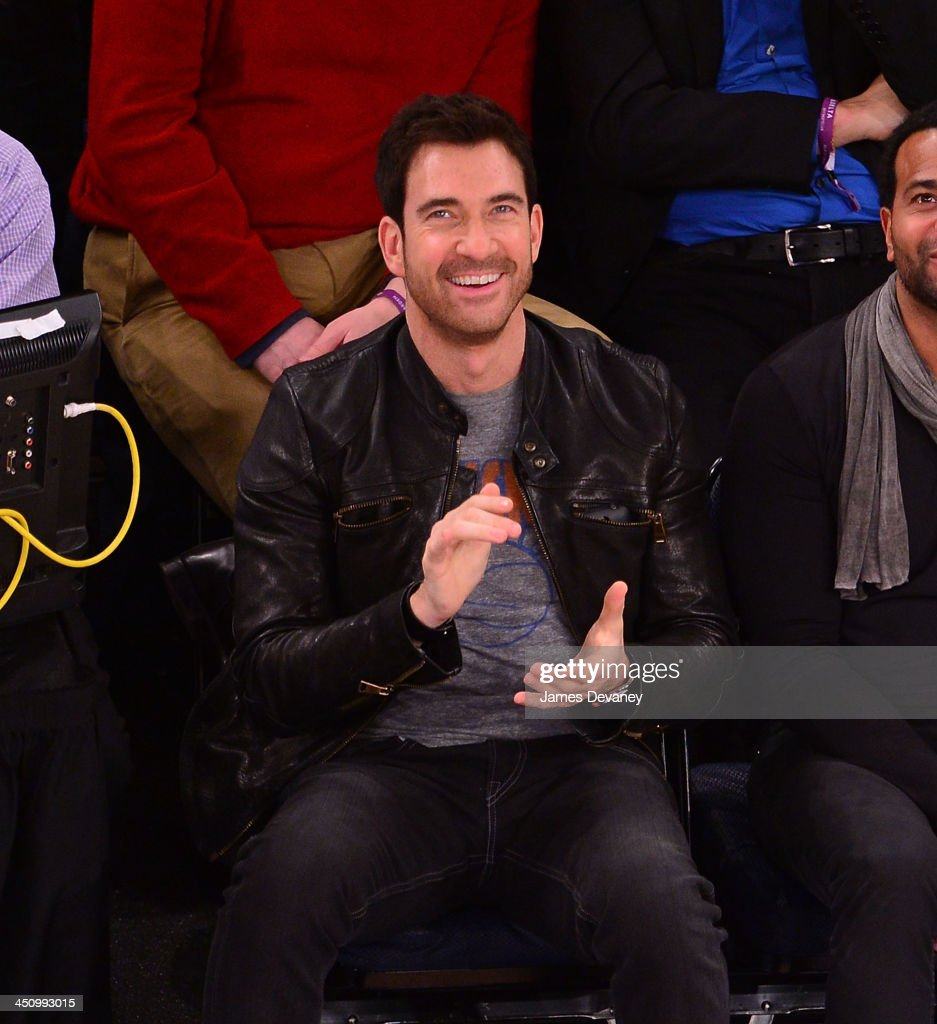 <a gi-track='captionPersonalityLinkClicked' href=/galleries/search?phrase=Dylan+McDermott&family=editorial&specificpeople=211496 ng-click='$event.stopPropagation()'>Dylan McDermott</a> attends the Indiana Pacers vs New York Knicks game at Madison Square Garden on November 20, 2013 in New York City.