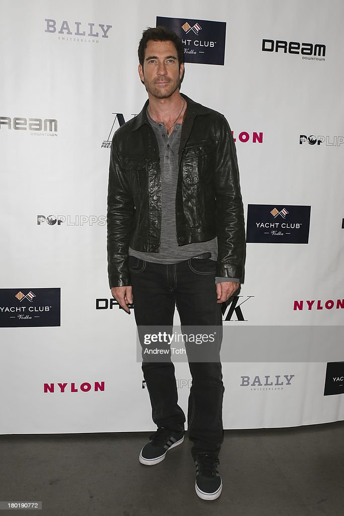 <a gi-track='captionPersonalityLinkClicked' href=/galleries/search?phrase=Dylan+McDermott&family=editorial&specificpeople=211496 ng-click='$event.stopPropagation()'>Dylan McDermott</a> attends the 'Popplicks: Plus One' Book Launch Event at The Gallery at The Dream Downtown Hotel on September 9, 2013 in New York, United States.