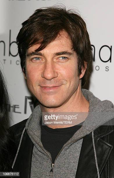 Dylan McDermott during 'Hedwig and The Angry Inch' at The Roxy Theatre Arrivals and Show at The Roxy Theatre in Hollywood California United States