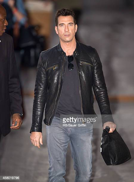Dylan McDermott is seen at 'Jimmy Kimmel Live' on October 28 2014 in Los Angeles California