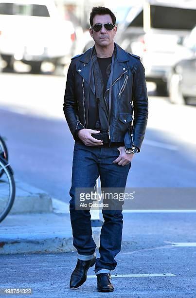 Dylan McDermott is seen in Soho on November 25 2015 in New York City