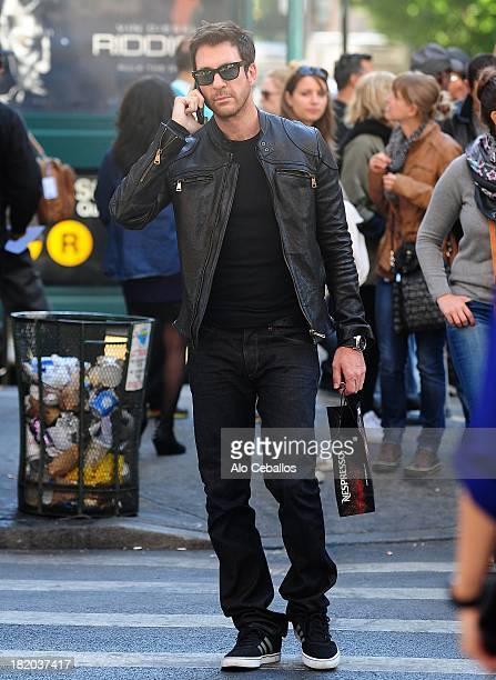 Dylan Mcdermott is seen in Soho on September 27 2013 in New York City