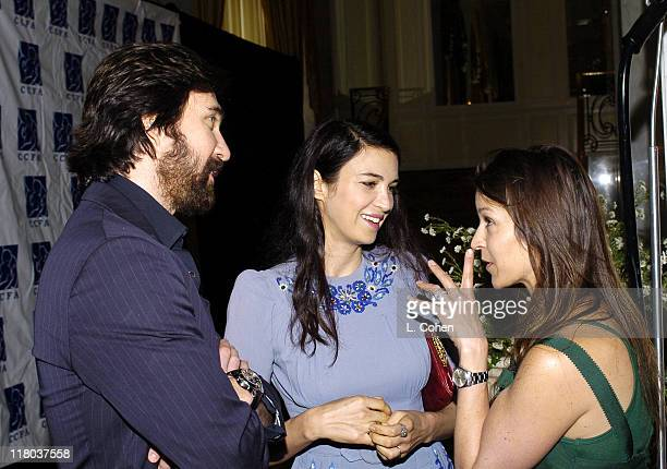 Dylan McDermott Shiva Rose and Amanda Anka during 6th Annual Lullabies Luxuries Luncheon and Fashion Show to Benefit Caring for Children Families...