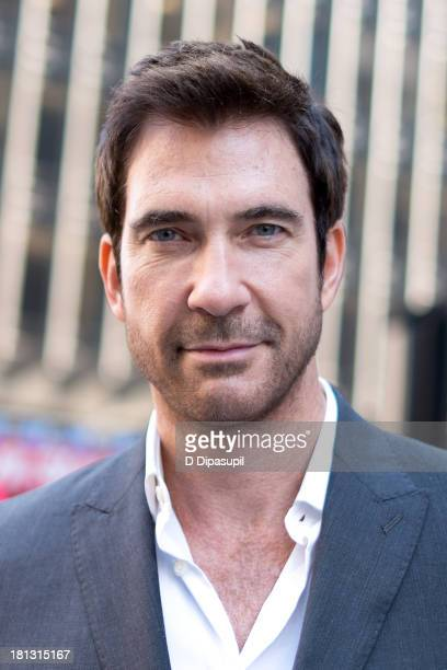 Dylan McDermott visits 'Extra' in Times Square on September 20 2013 in New York City