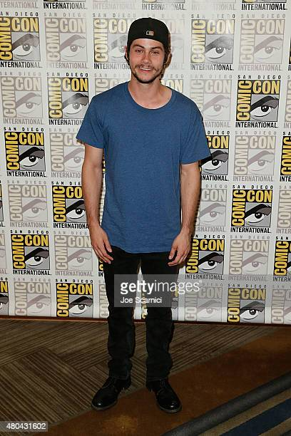 Dylan O'Brien attends the 20'th Century Fox Press Line at ComicCon International 2015 Day 3 on July 11 2015 in San Diego California