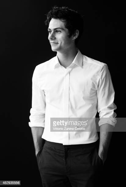 Dylan O'Brien poses for a portrait at the Giffoni Film Festival on July 22 2014 in Giffoni Valle Piana Italy