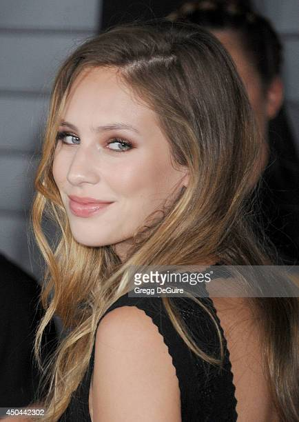 Dylan Penn arrives at the MAXIM Hot 100 celebration event at Pacific Design Center on June 10 2014 in West Hollywood California